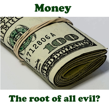 money the root of all evil The lack of money is the root of all evil - mark twain quotes from brainyquote com.
